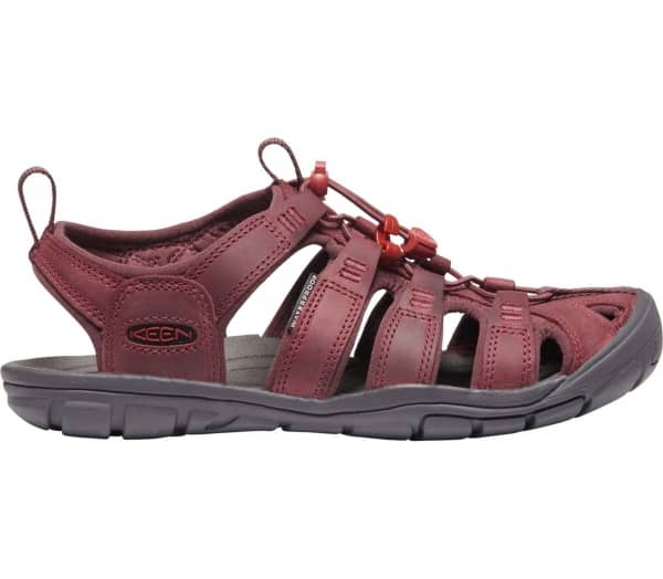KEEN Clearwater CNX Leather Dames Outdoorsandalen - 1