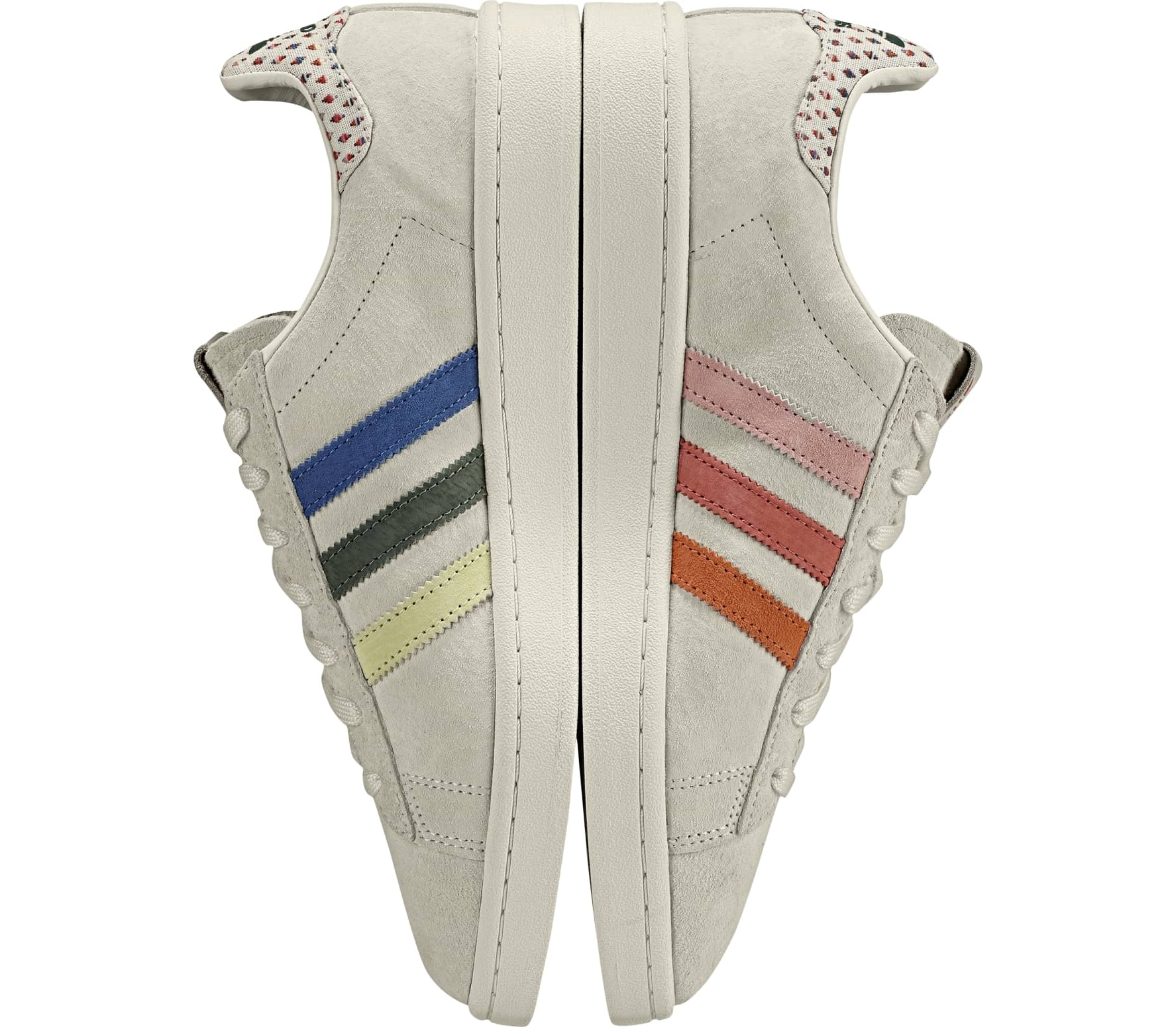differently d72bd 02999 adidas Originals - Campus Pride trainers (beige)