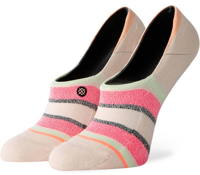 Watermelon Stripe Dam Sockor