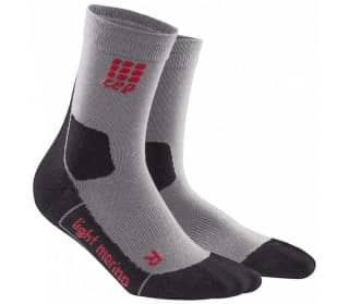 CEP Dynamic+ Outdoor Light Merino Mid-Cut Femmes Chaussettes gris