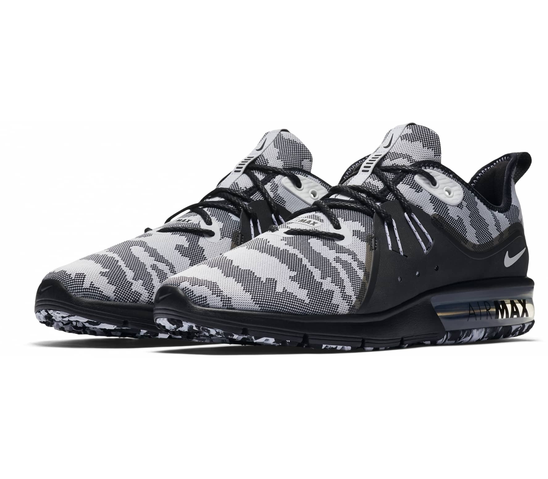 save off 168fd d05b4 ... coupon code for nike air max sequent 3 herren laufschuh schwarz d3ce8  dc5c5