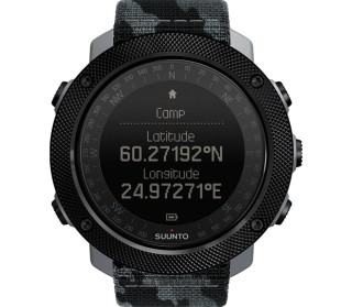 Traverse Alpha Concrete Outdooruhr Unisex