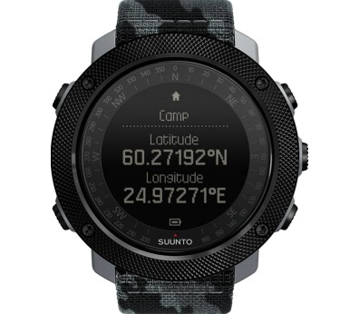 Suunto - Traverse Alpha Concrete outdoor watch (black/grey/camo)