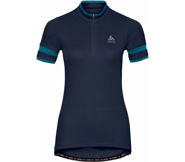 Odlo Stand-Up Collar Half-Zip Breeze Shortsleeve Damen