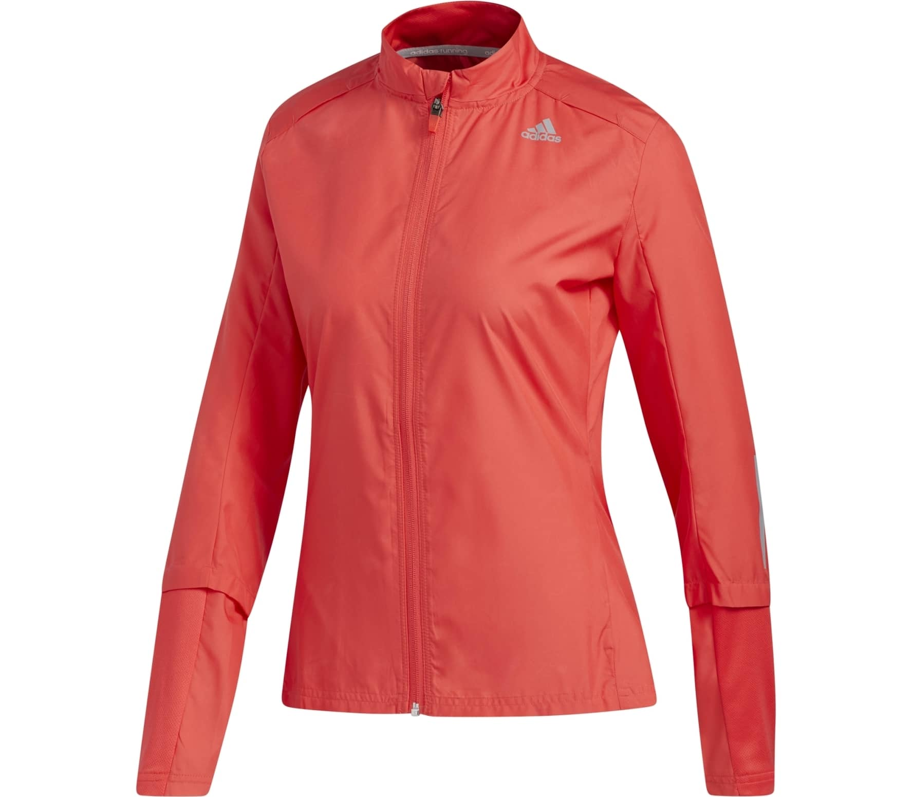 Adidas - Response Wind women's running jacket (red) - XS thumbnail