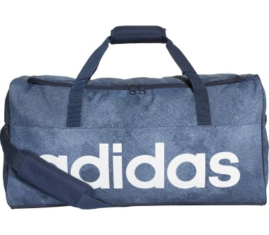 Adidas - Linear Performance M Trainingstasche (blau)