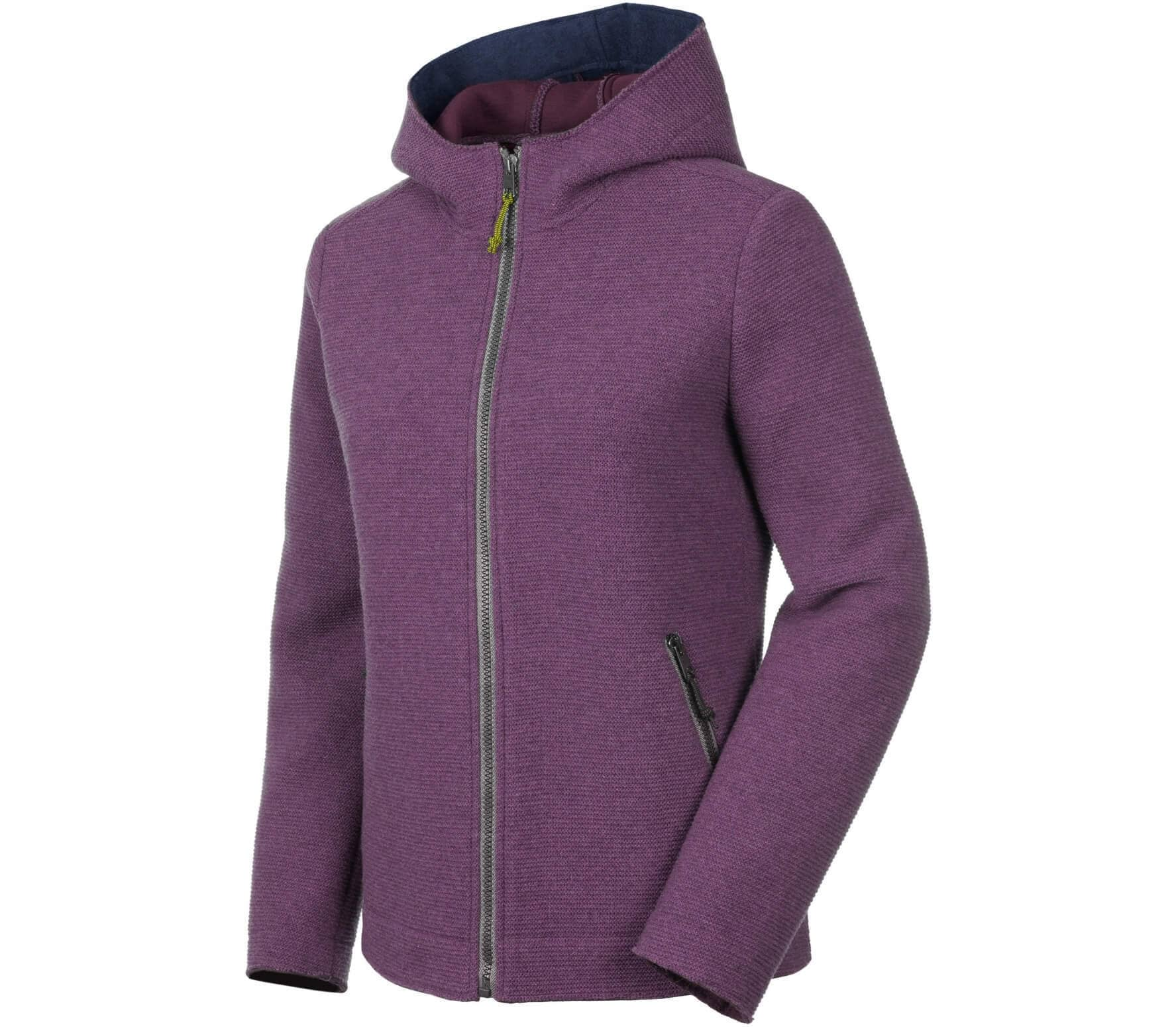 d29f34c319f0 Salewa - Sarner 2L Full-Zip Hoody women s wool cardigan (purple ...