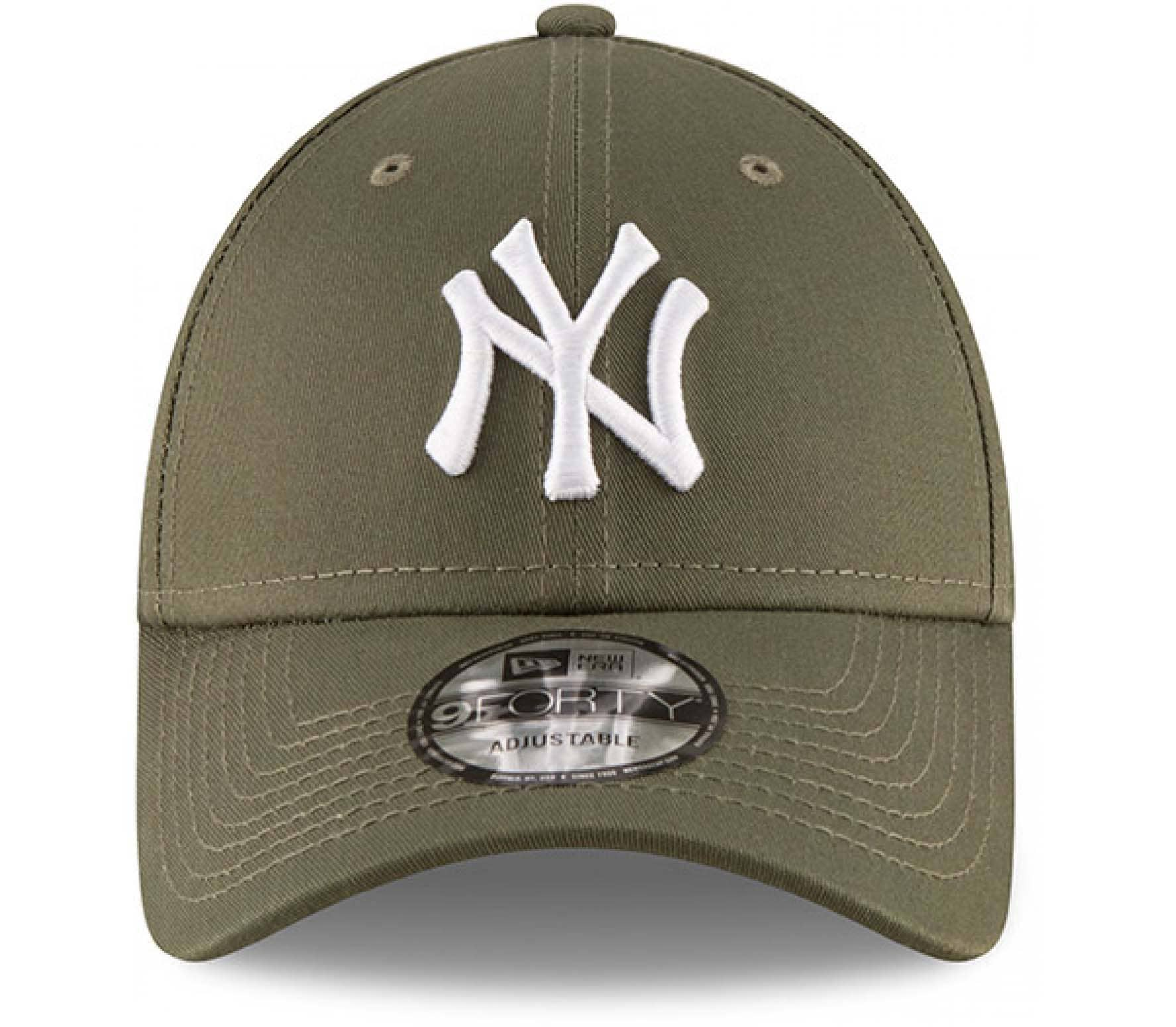 New Era - League Essential 9Forty New York Yankees Cap (grün)