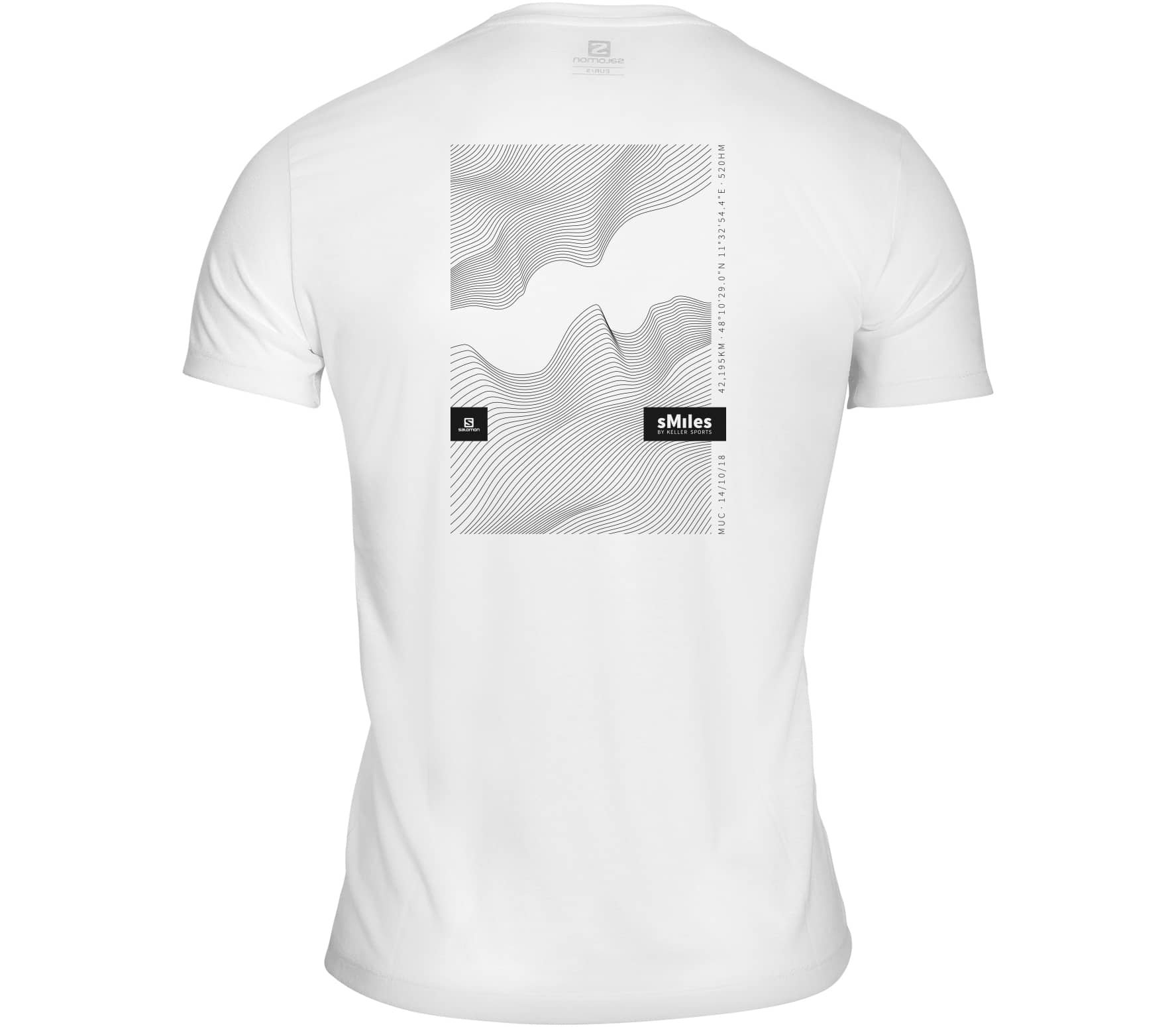 Salomon - x sMiles. by Keller Sports GMM Herren Laufshirt (weiß)