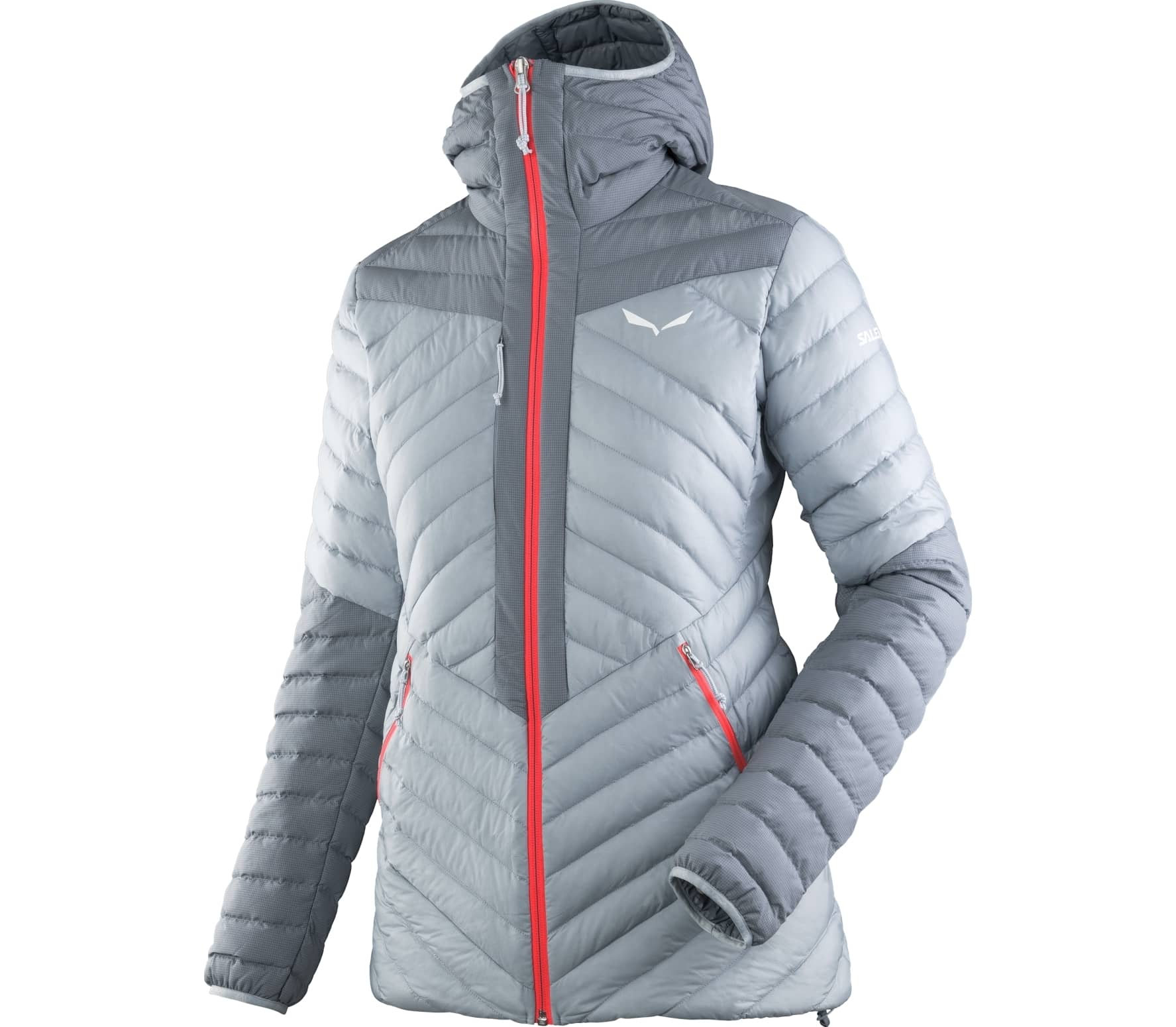 Salewa - Ortles Light 2 women's down jacket (grey/red) - XS (34)