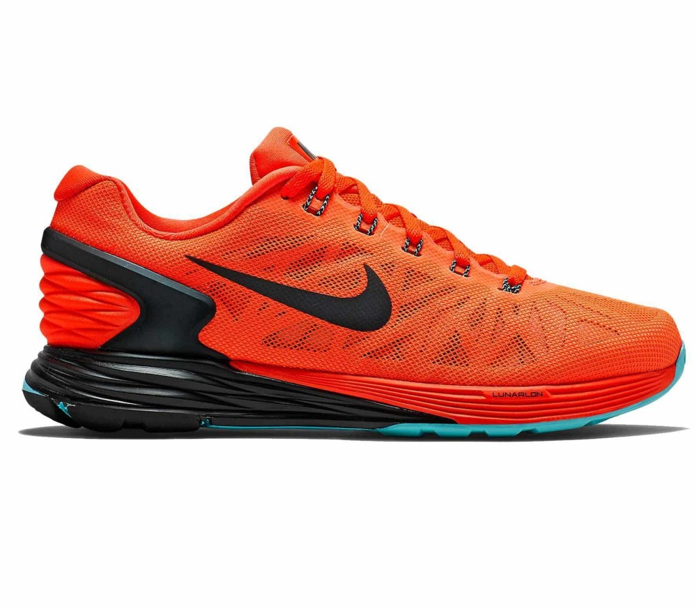 official photos 548ab 4833f Nike - Lunarglide 6 women s running shoes (red black)