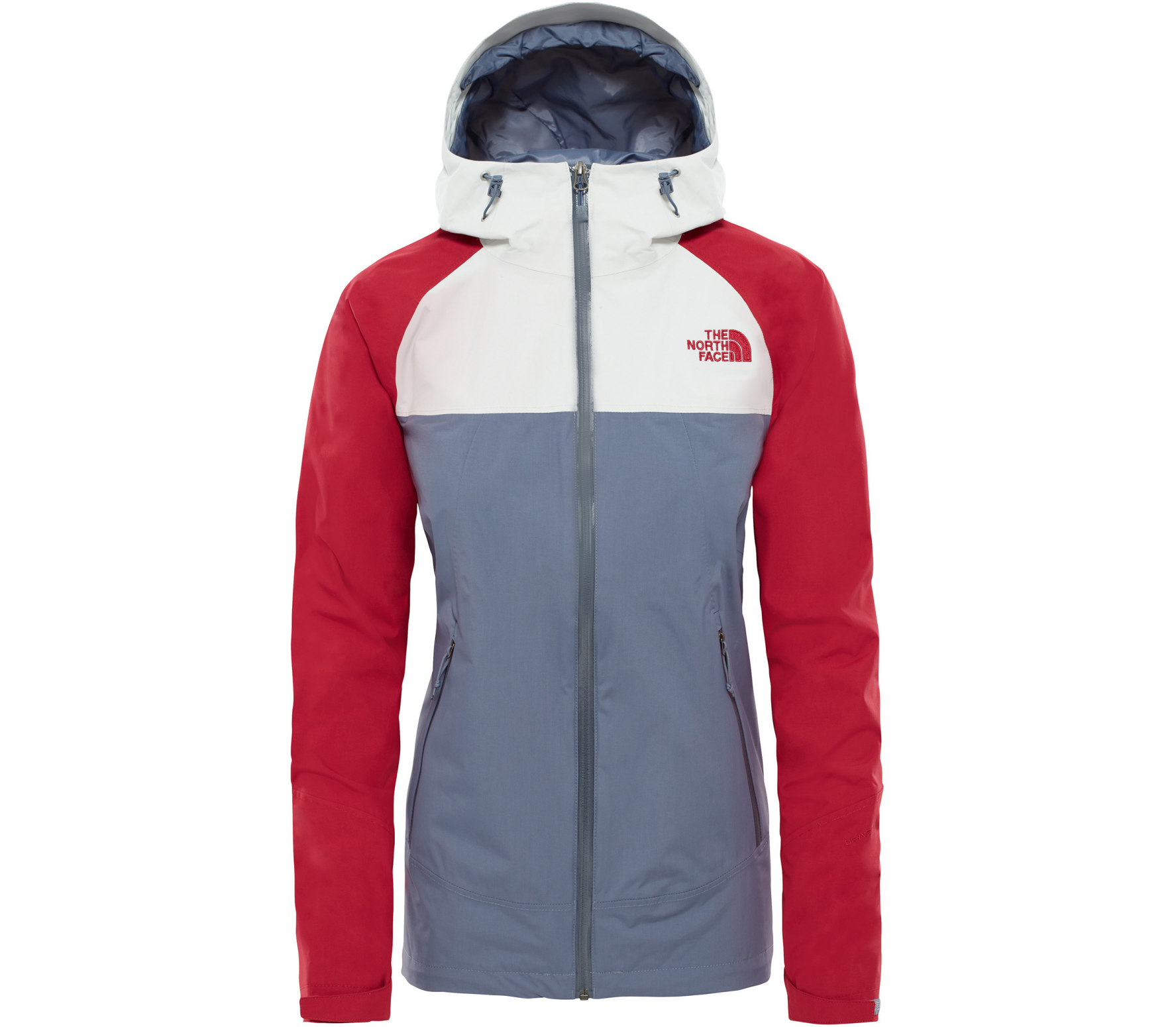 The North Face - Stratos Damen Outdoorjacke (grau/rot)