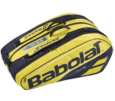 Babolat - RH X 12 Pure Aero tennis bag (yellow/black)