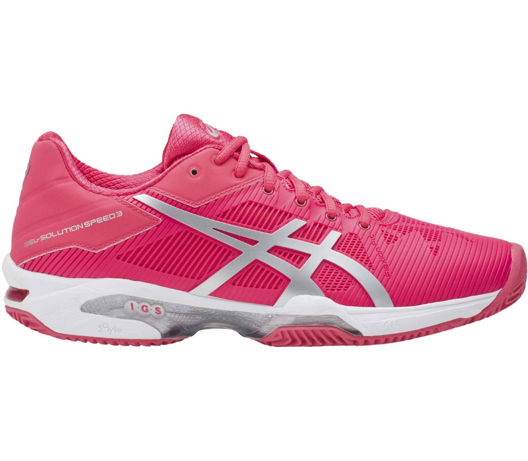 ASICS Gel-Solution Speed 3 Clay Damen rot
