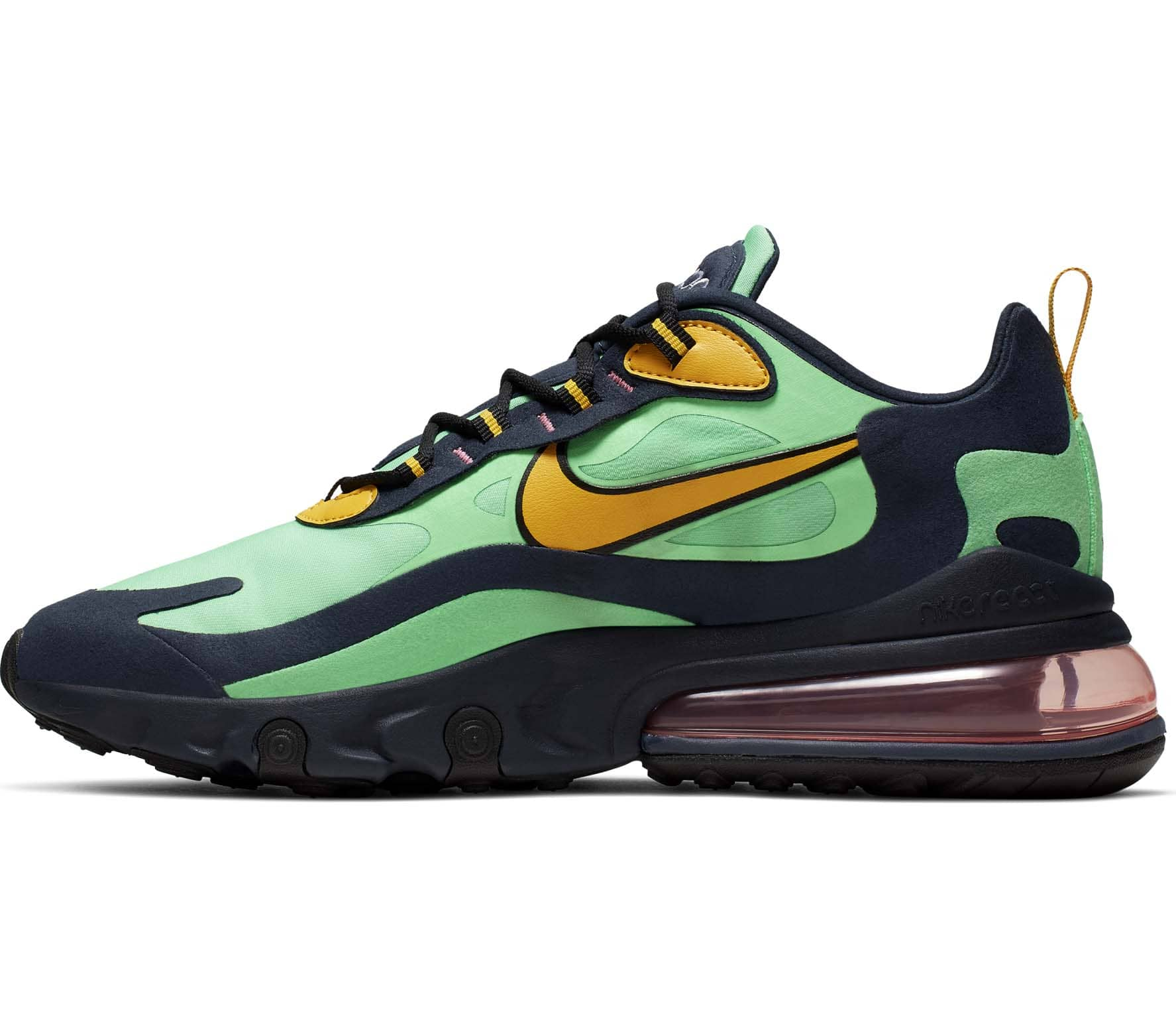 buy popular ca076 a7270 Nike Sportswear Air Max 270 React Herren Sneaker grün