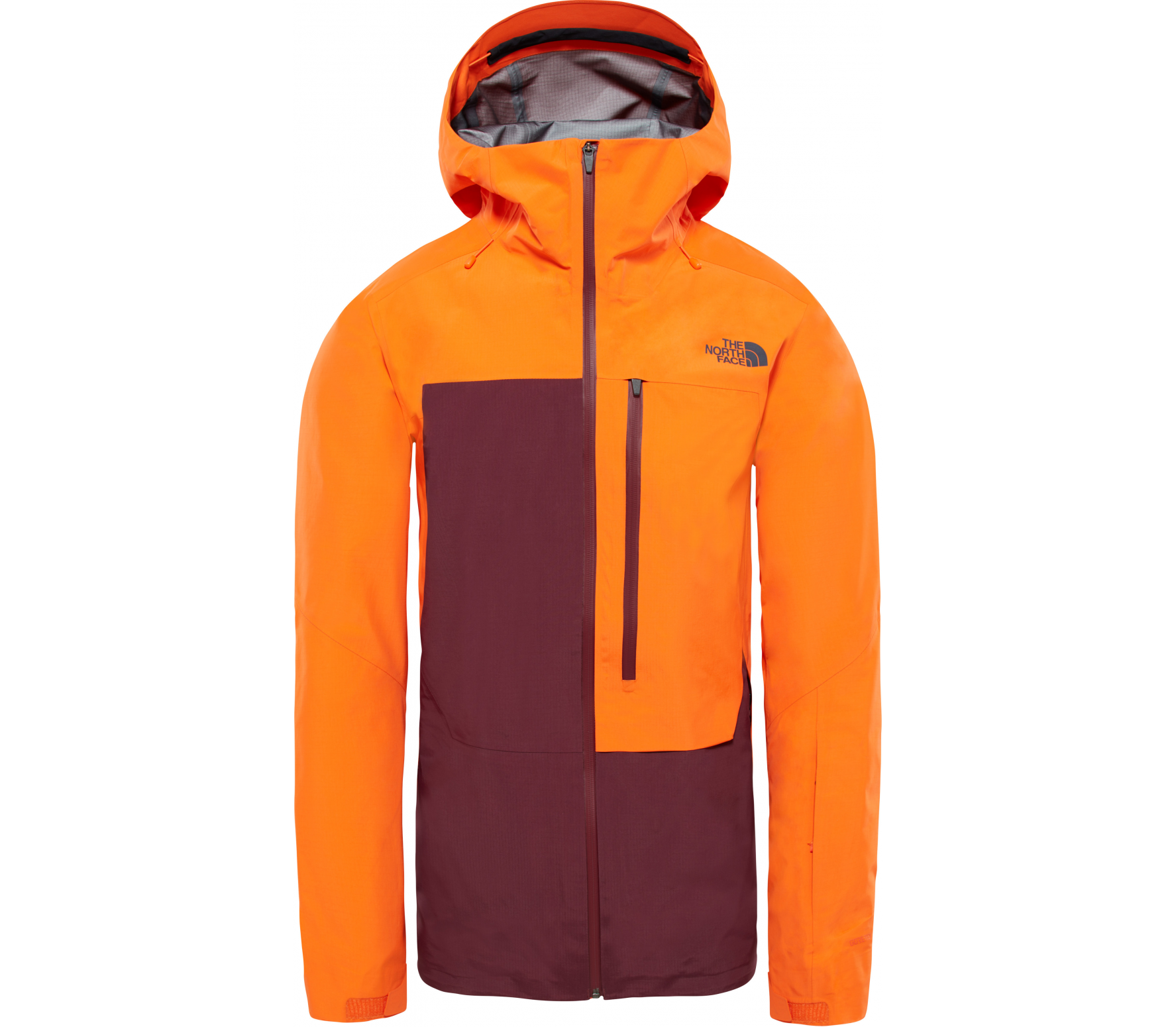 e5b9127ce80442 The North Face - Free Thinker Herren Skijacke (orange) im Online ...