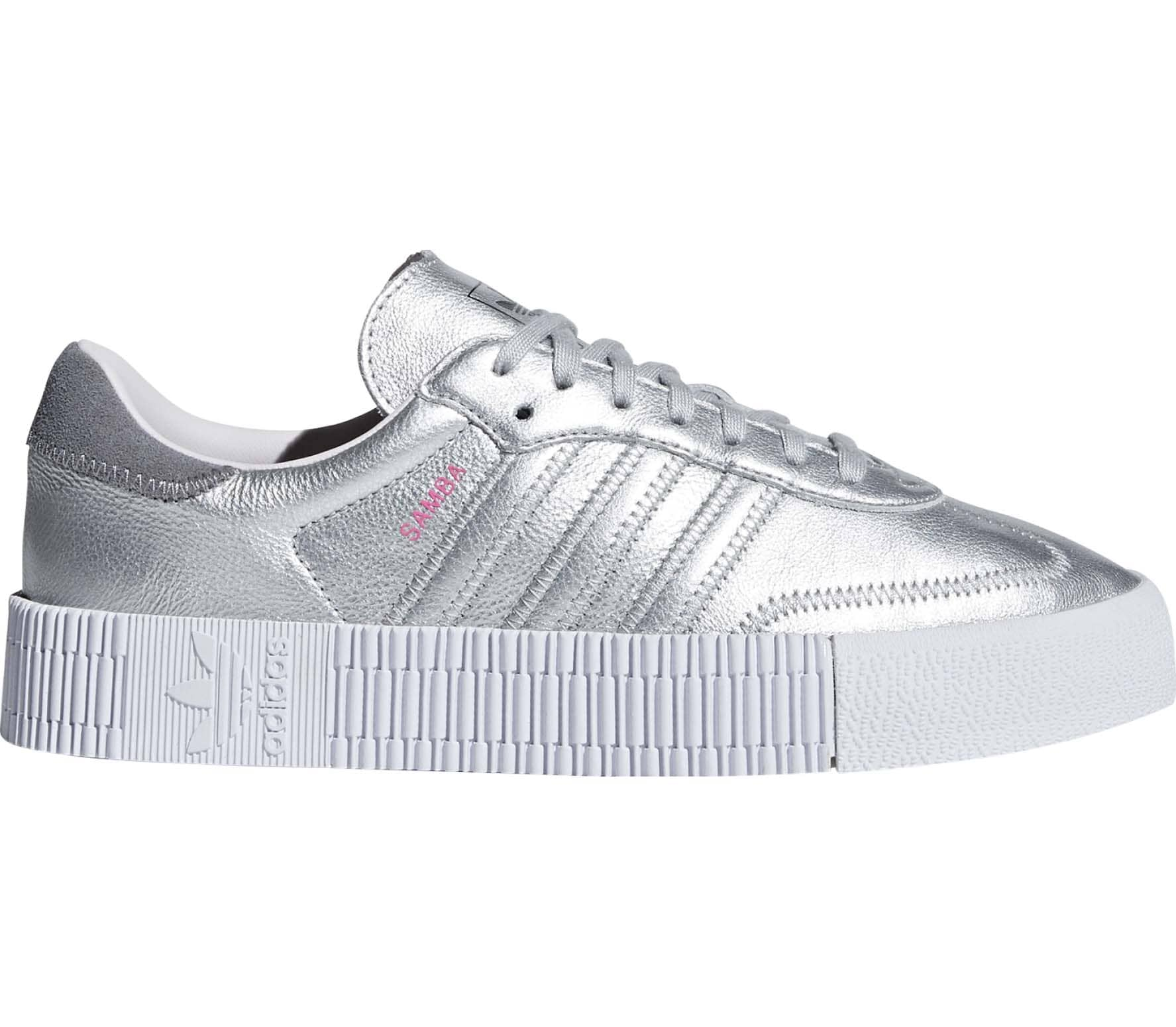 separation shoes 54bda 6ad4e adidas Originals - Sambarose Damen Sneaker (silber)
