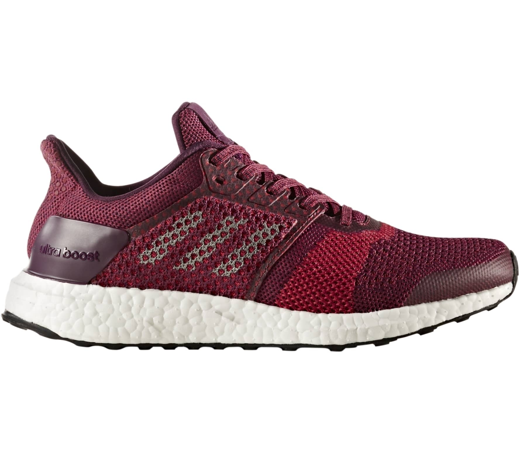 cb0faf2c2 Adidas - Ultra Boost ST women s running shoes (dark red black) - buy ...