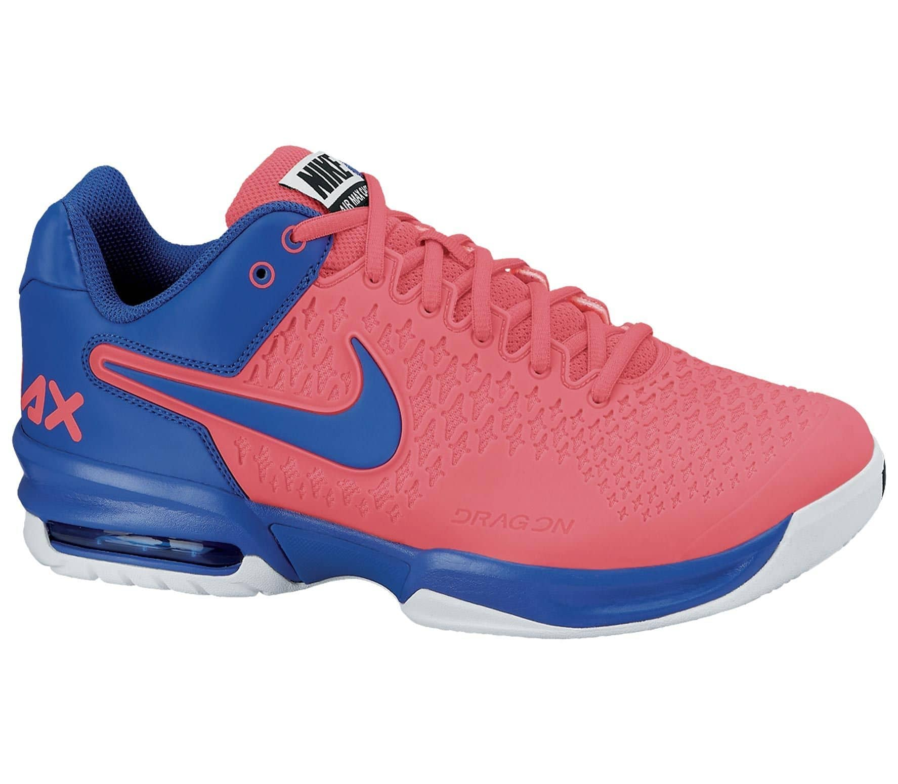 official photos 26725 3afc4 Air Max Cage mens tennis shoes (pinkblue)