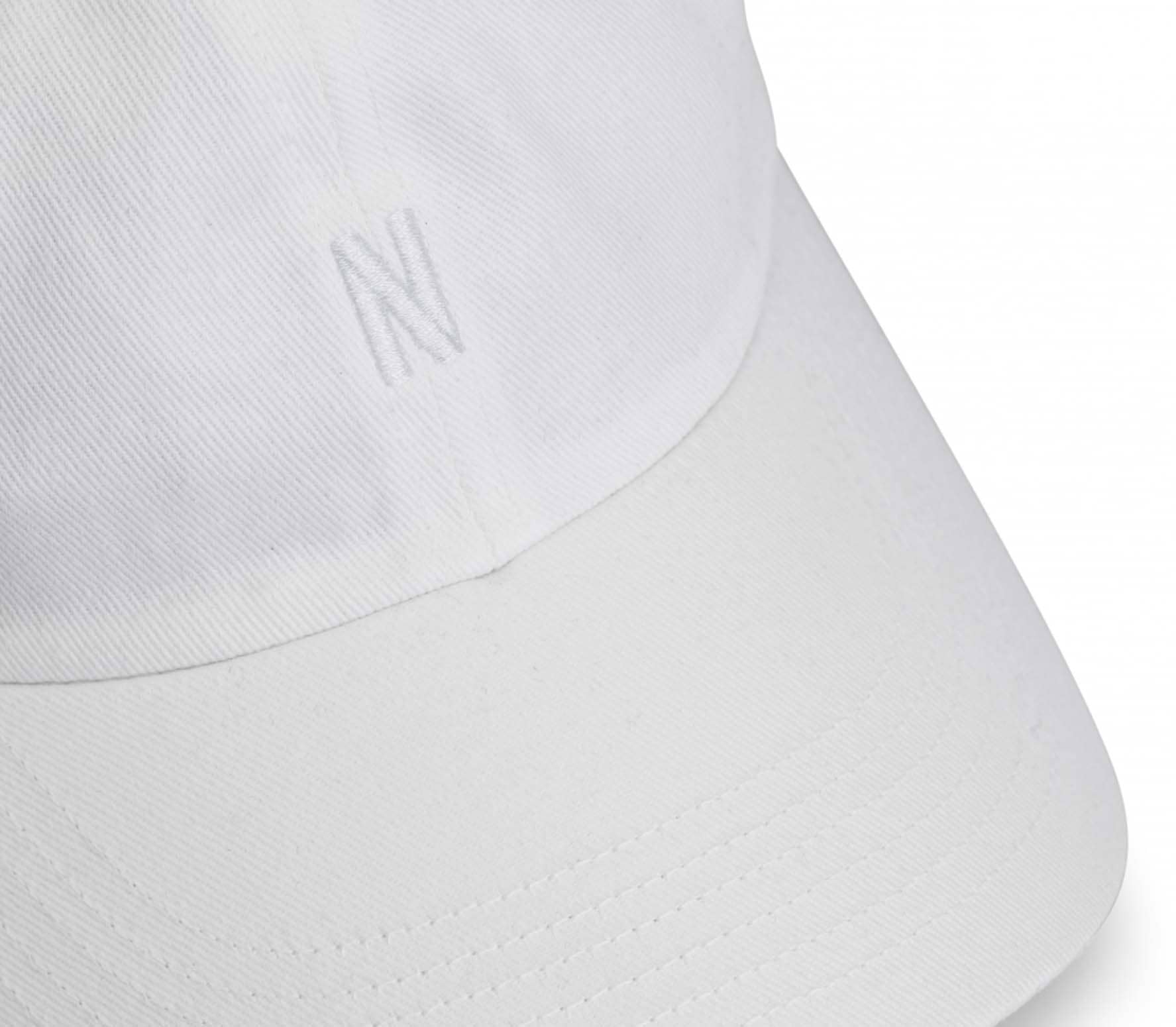 Norse Projects Twill Sports Unisex Cap white