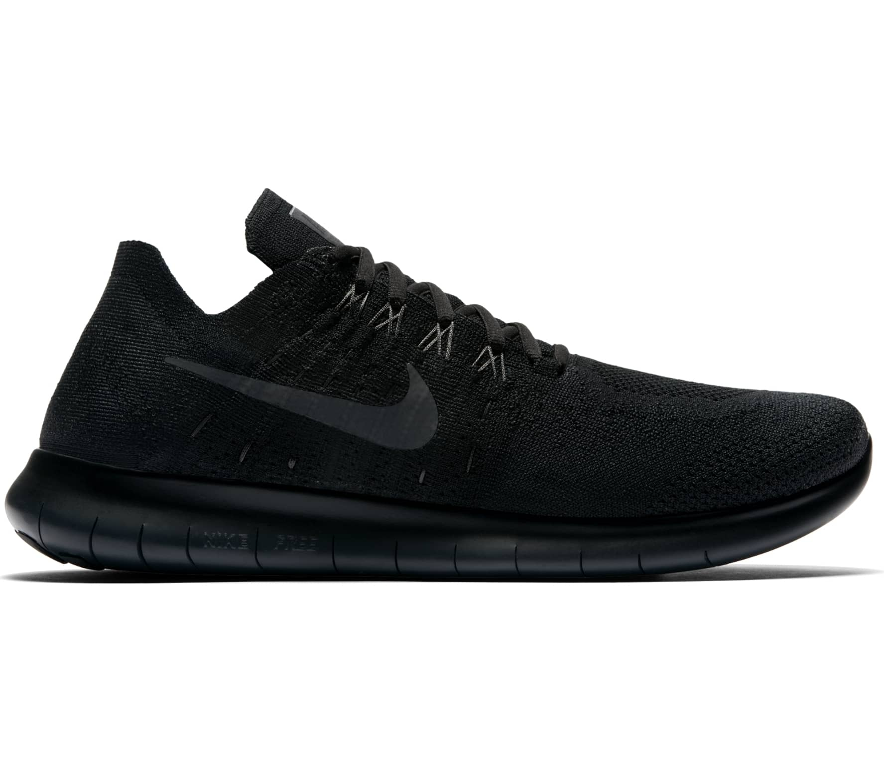 newest collection 4e034 a9c24 Nike - Free RN Flyknit 2017 Herren Laufschuh (schwarz)