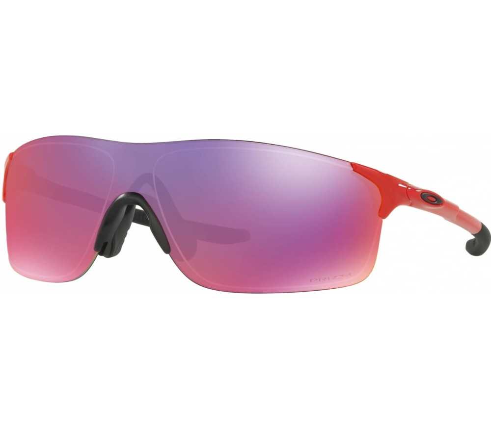 oakley evzero bike brille rot orange im online shop. Black Bedroom Furniture Sets. Home Design Ideas
