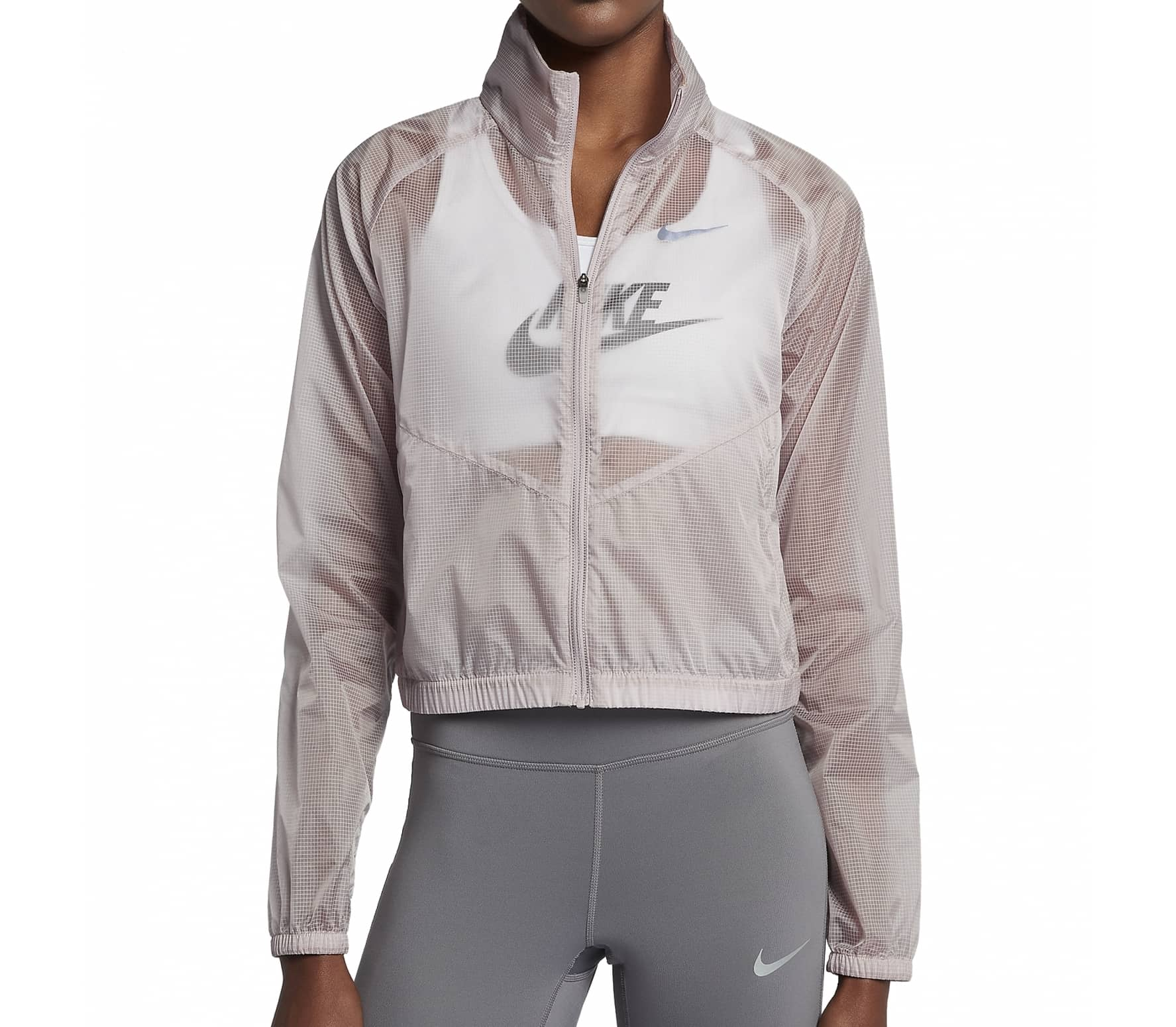 Nike - Running women's jacket (brown/grey) - XS thumbnail