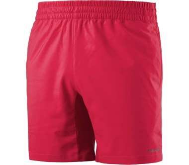 Head - Club men's tennis shorts (red)