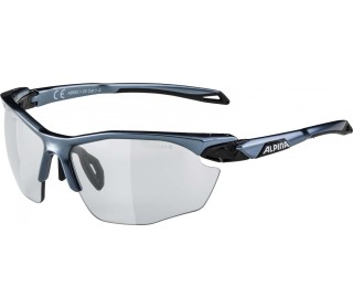 Alpina Twist Five HR VL+ Bike Brille Unisex argenté
