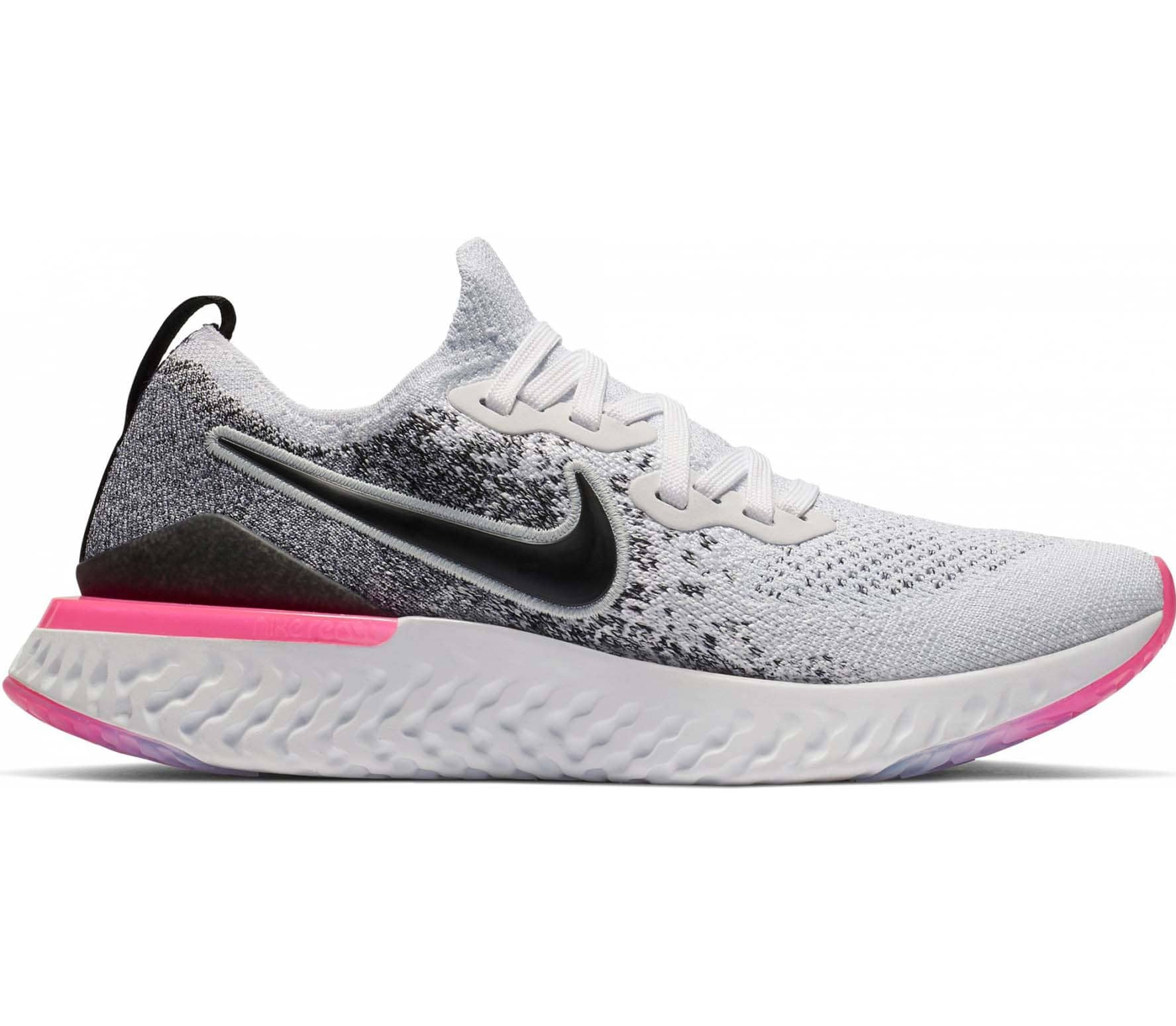 on sale 06e5c d32f4 Nike - Epic React Flyknit 2 Damen Laufschuh (grau)