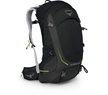 Osprey - Stratos 34 men's technical hiking rucksack (black)