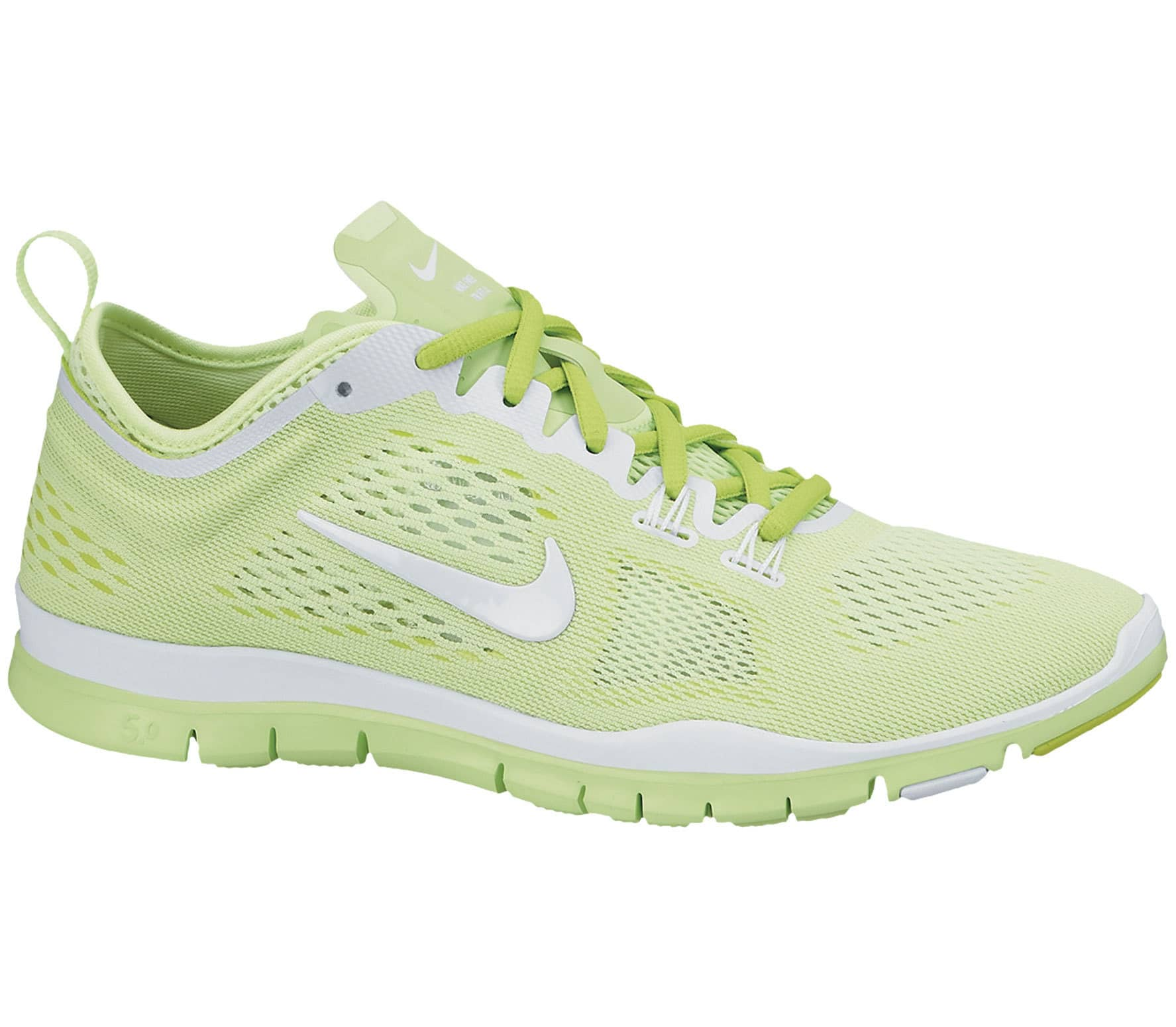 cb33a3b8b8b0f Nike - Free 5.0 TR Fit 4 Breath women s training shoes (green white ...