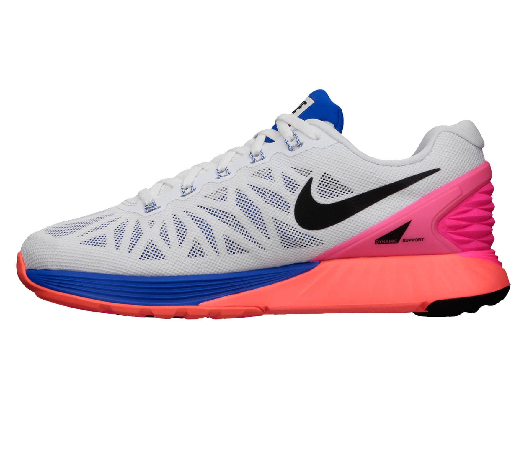 d1ac3108a88b Nike - Lunarglide 6 women s running shoes (white pink) - buy it at ...