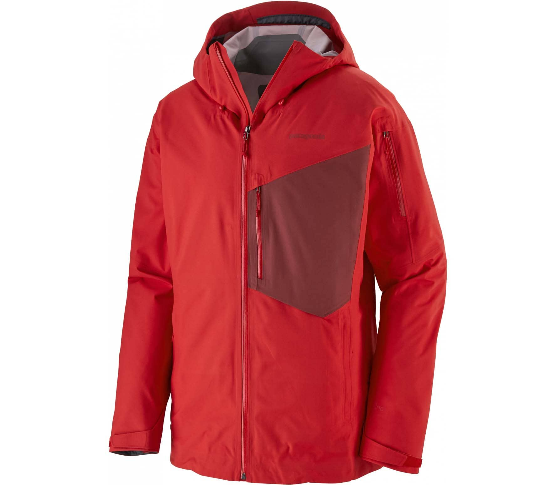 new arrival 8aecd d3f10 Patagonia Snowdrifter Uomo Giacca da neve rosso