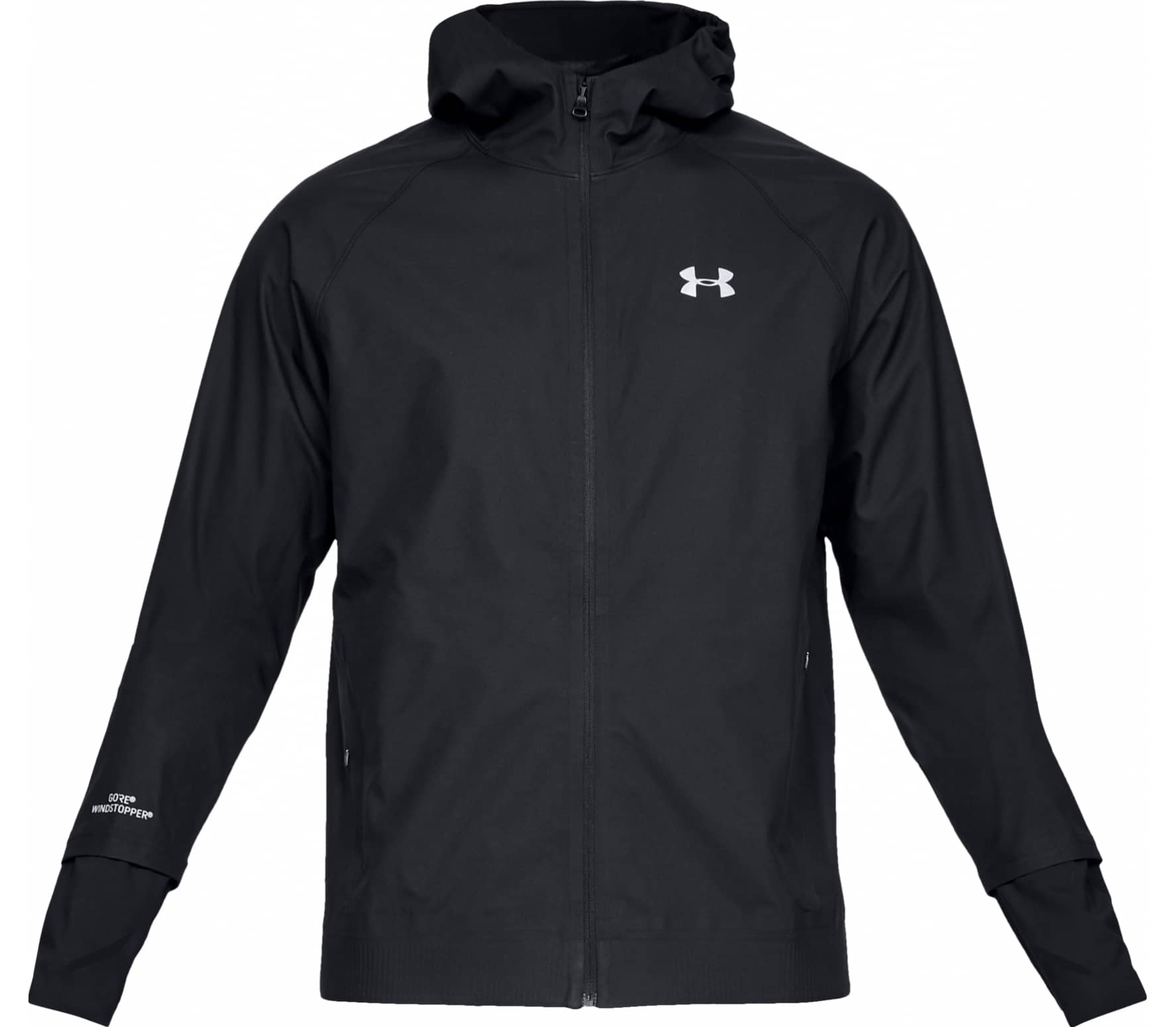 Under Armour - Gore-Tex Windstopper men's running jacket (black) - S thumbnail