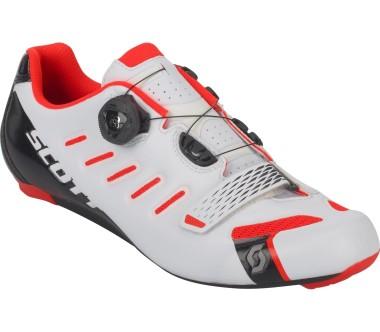 Scott - Road Team Boa Herren Rennradschuh (weiß/rot)