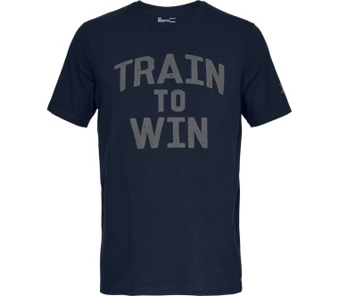 Under Armour - Mfo Train to Win men's training top (blue)