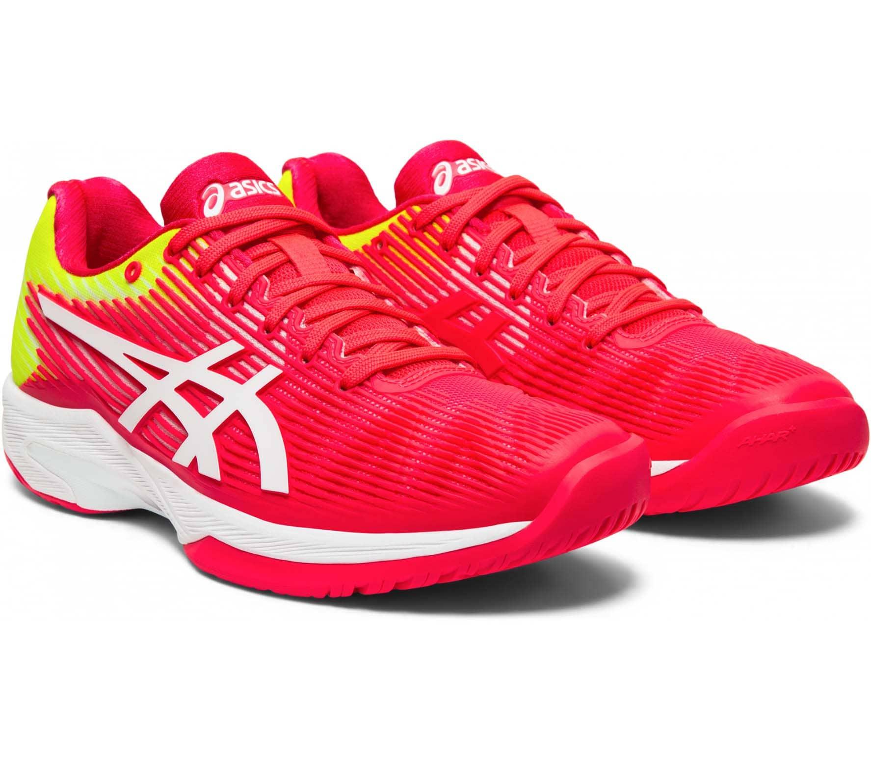 ASICS Solution Speed Ff Mujer Zapatillas de tenis rosa