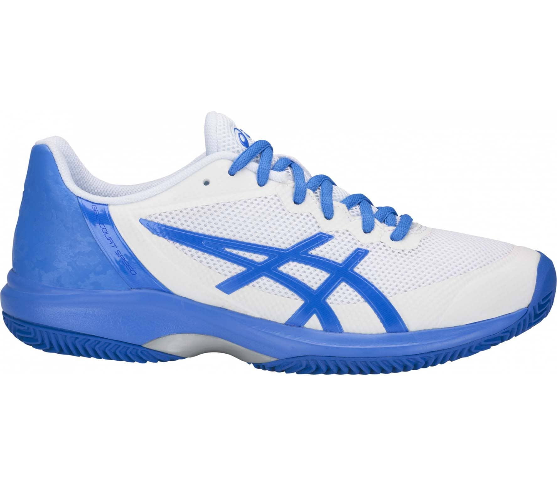 0a3fab459050 ASICS - Gel-Court Speed Clay women s tennis shoes (white blue) - buy ...
