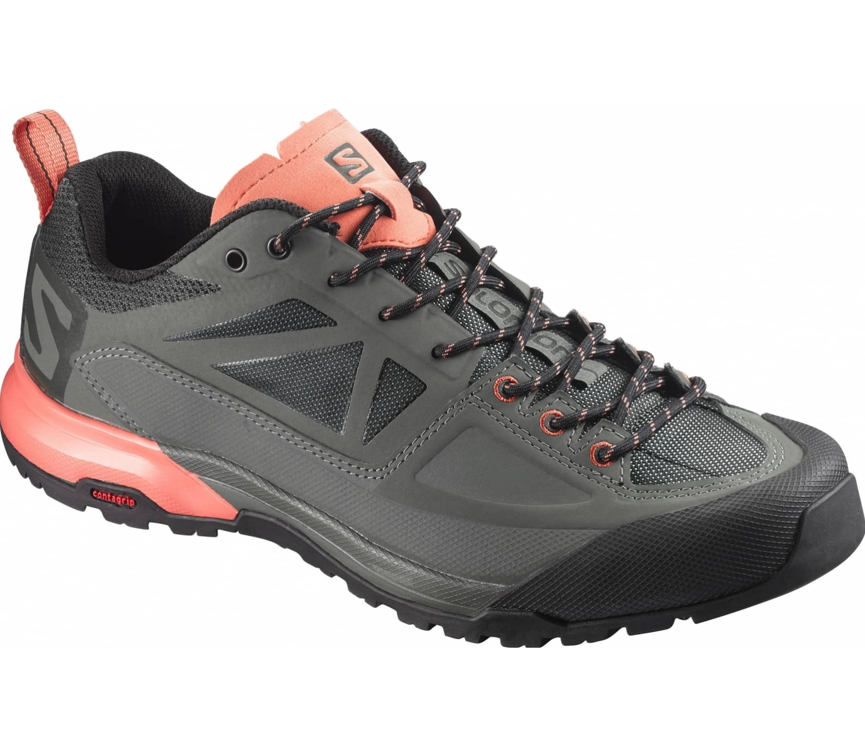 big sale 0e687 45ee8 Salomon - X Alp Spry womens Approach shoes (greycoral)