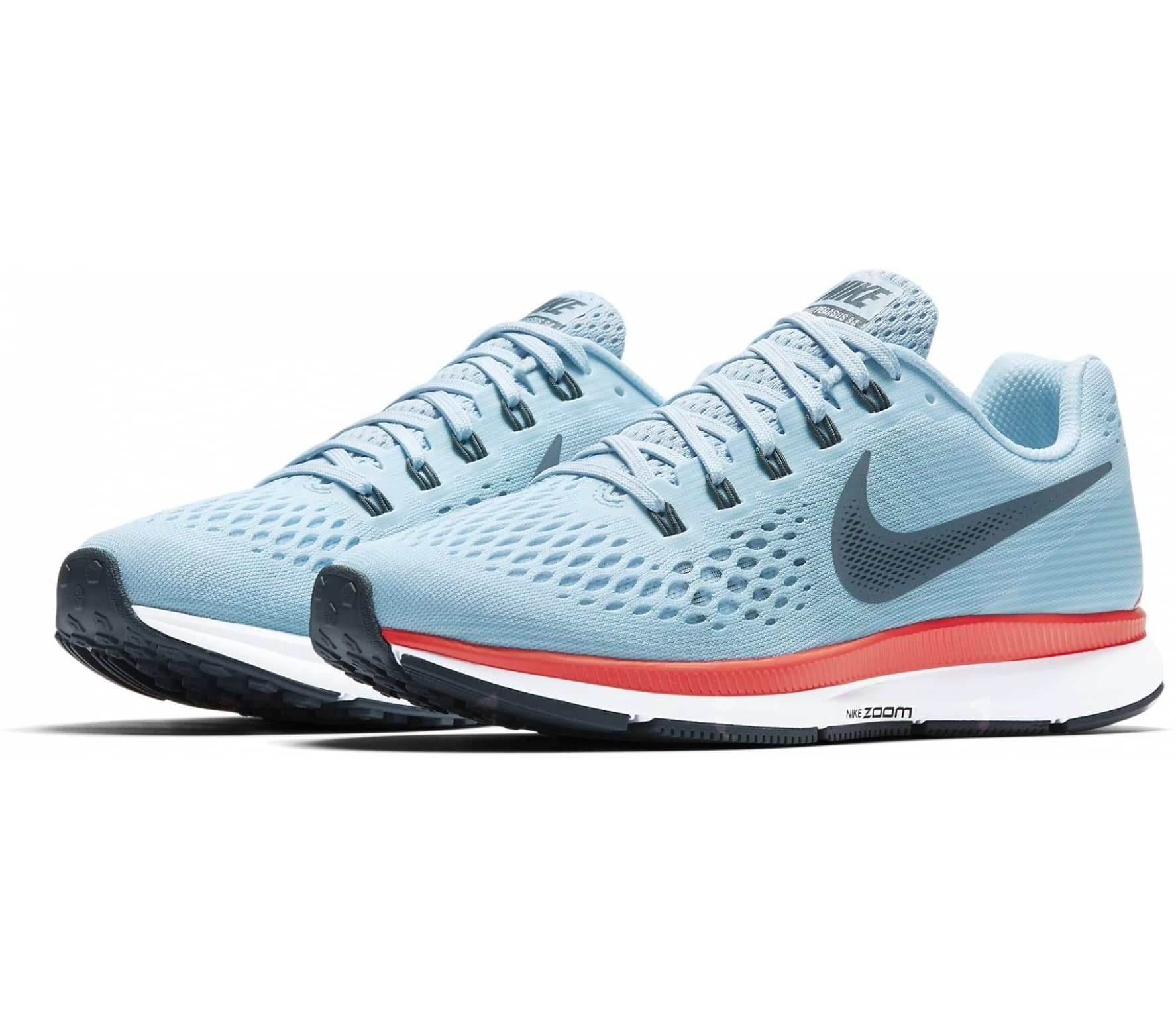 db130bd5dd735 Nike - Air Zoom Pegasus 34 women s running shoes (light blue) - buy ...