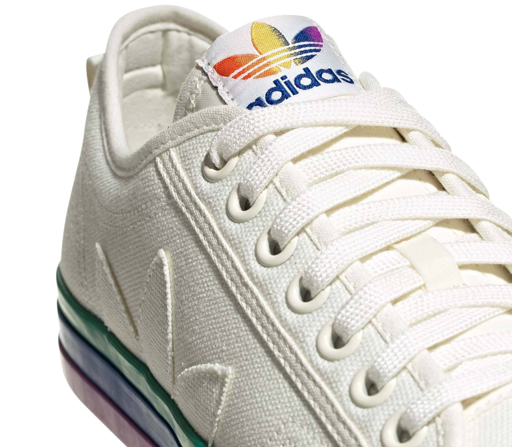 adidas Originals Nizza Pride Unisex Sneakers white