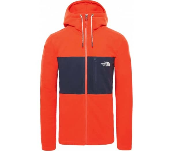 THE NORTH FACE Blocked Tka 100 Full Zip Herren Fleecejacke