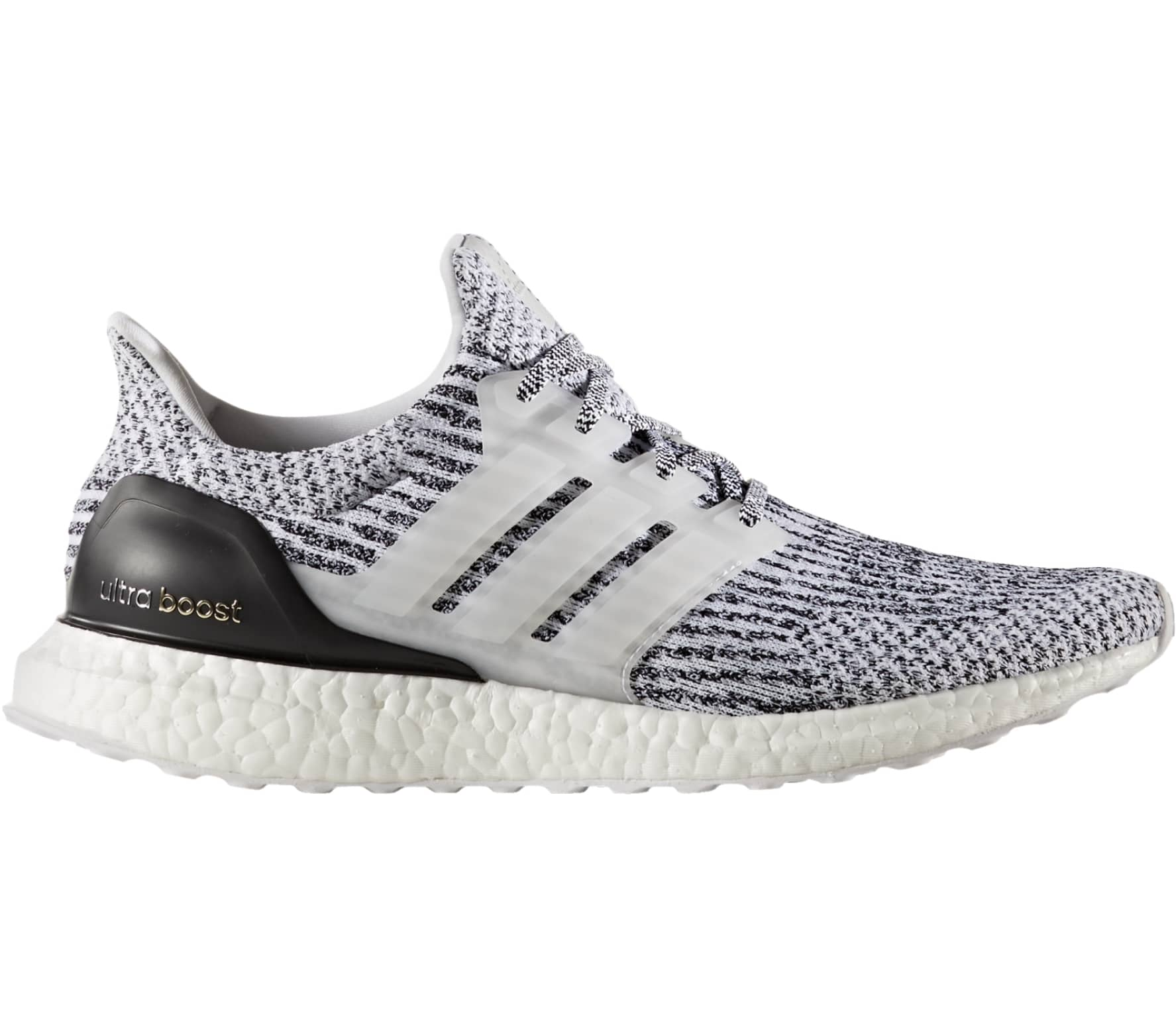 Adidas - Ultra Boost men's running shoes (white/black