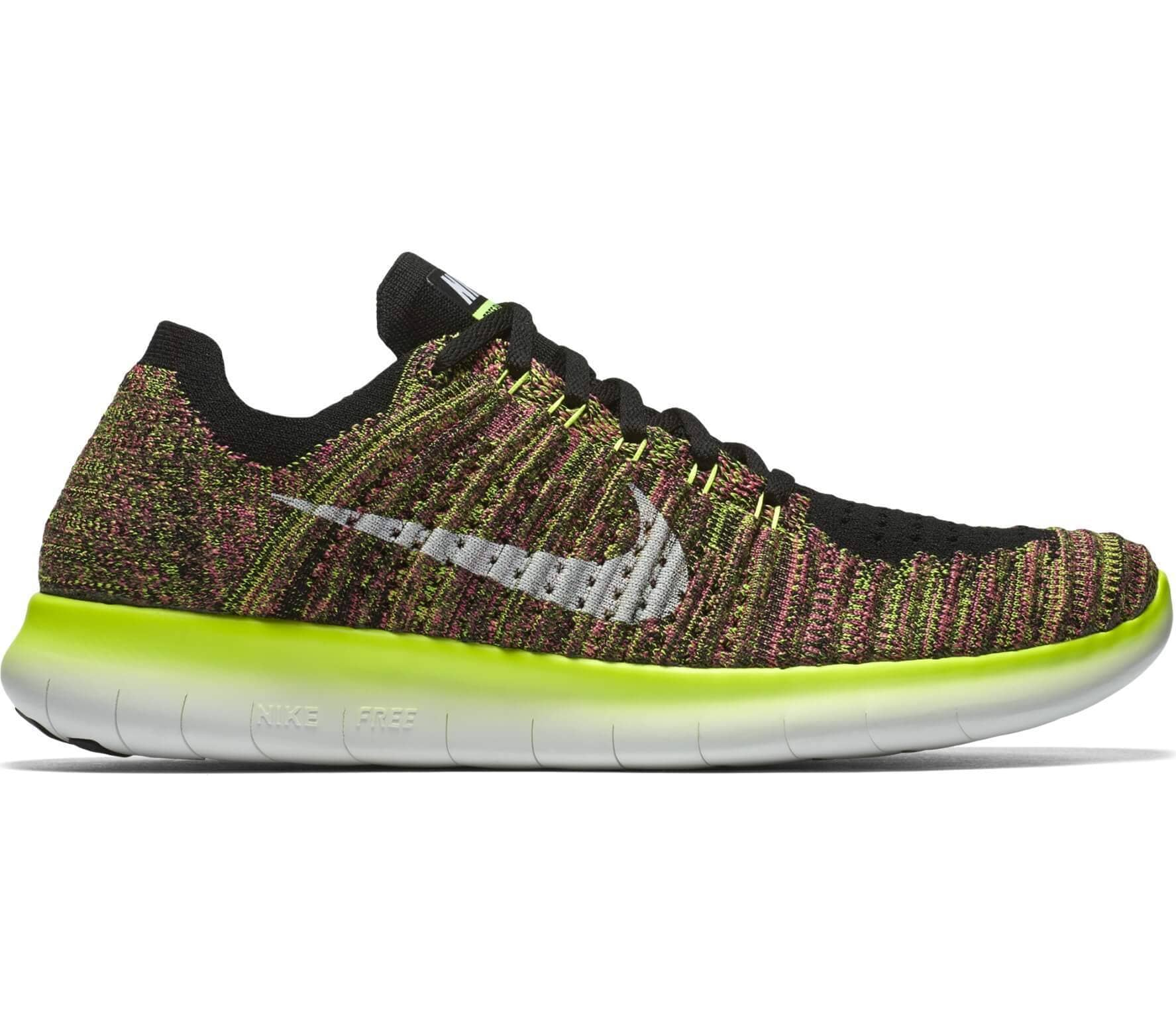 d28fb453120c Nike - Free Run Flyknit OC men s running shoes (multi coloured ...