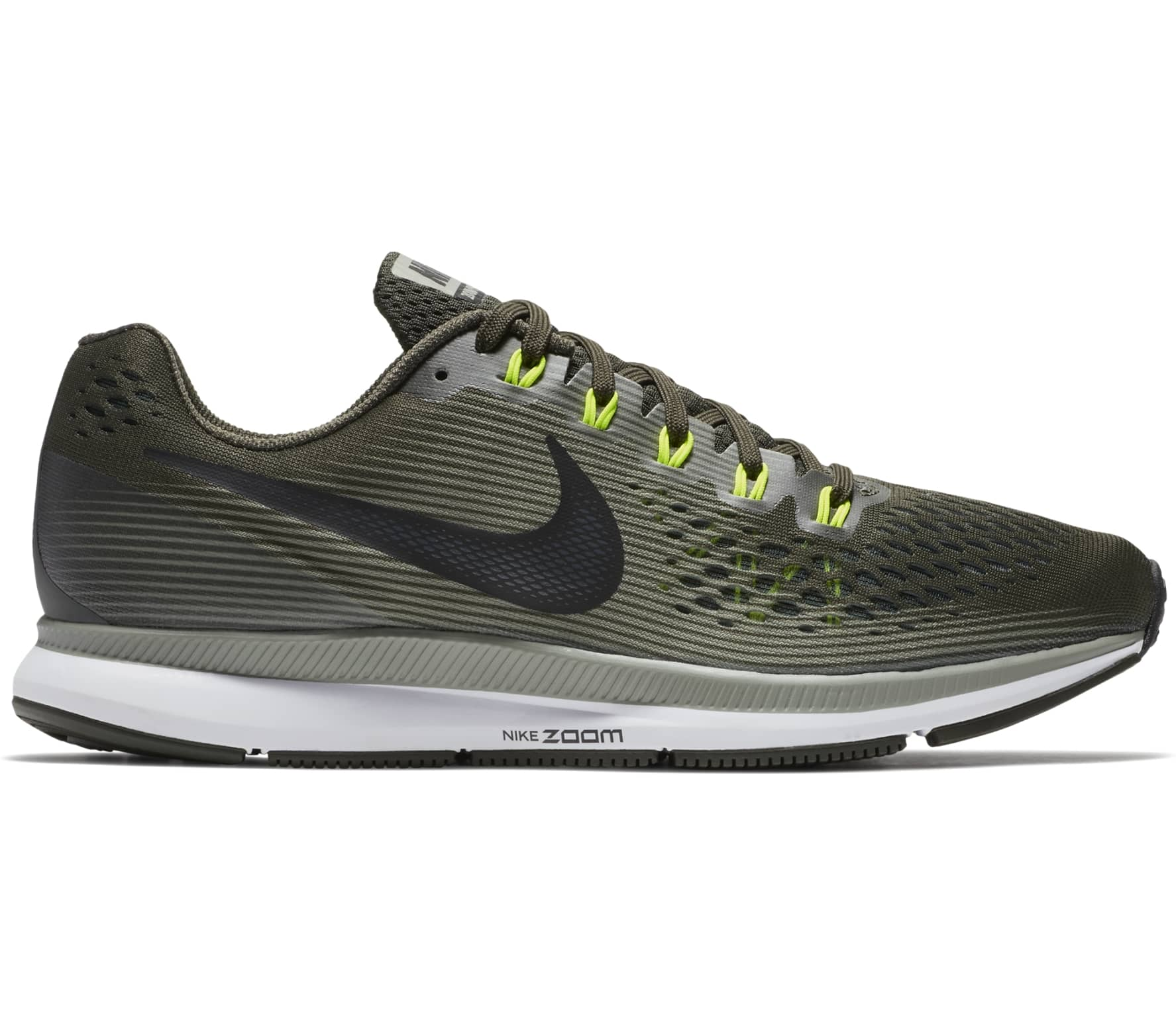 premium selection 227b7 3955b Nike - Air Zoom Pegasus 34 men s running shoes (green brown)