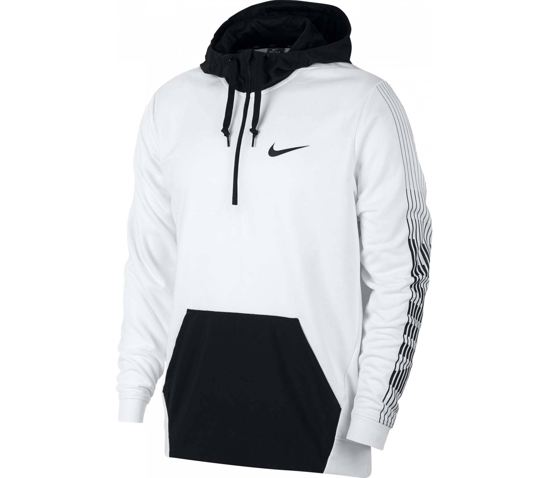 promo code aaac1 8a3eb Nike - Dri-FIT fleece men s training hoodie (white)