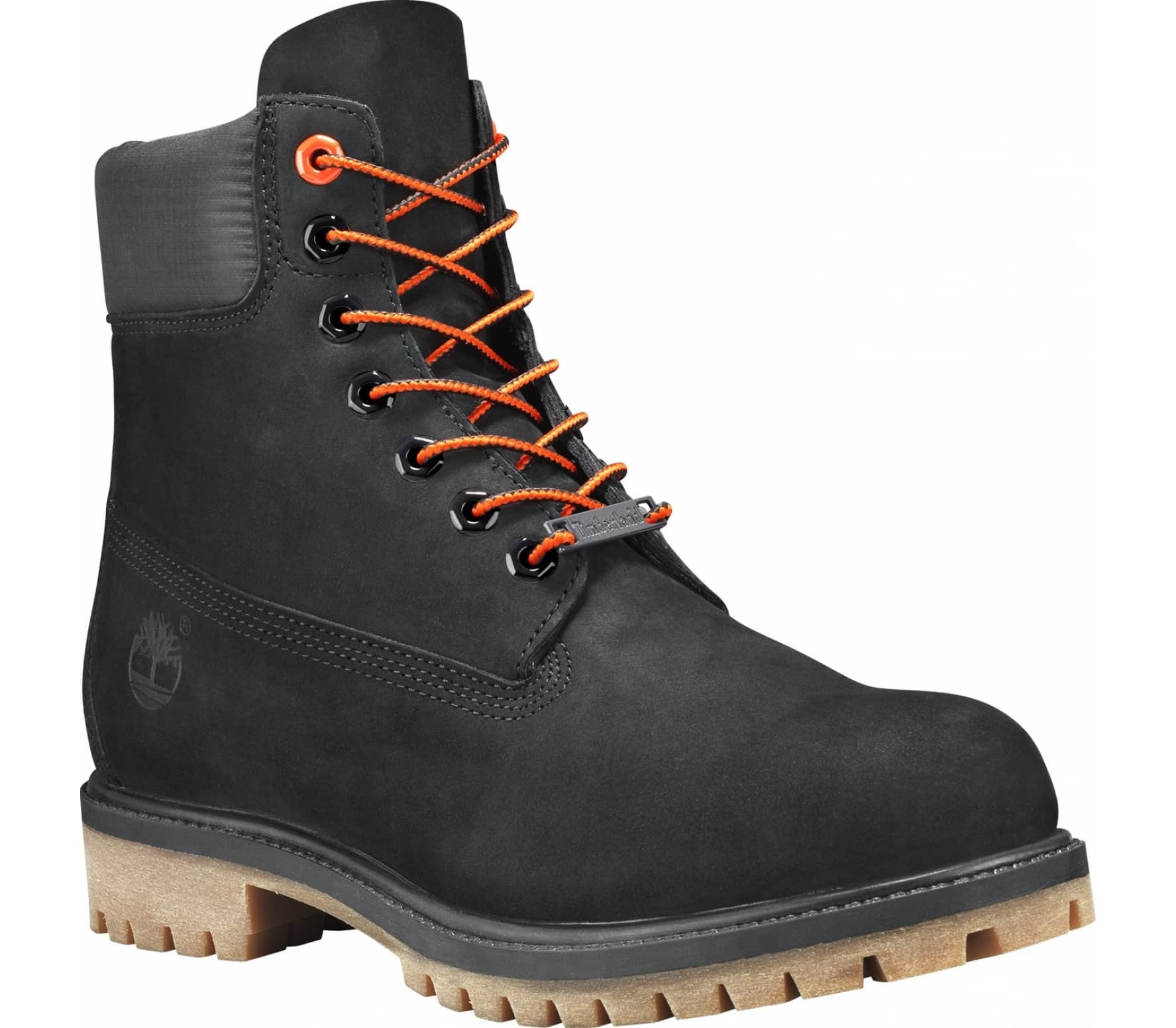 aa07fed526a Timberland - Icon Collection 6 Premium Hommes Montagne Lifestyle (noir  Orange)