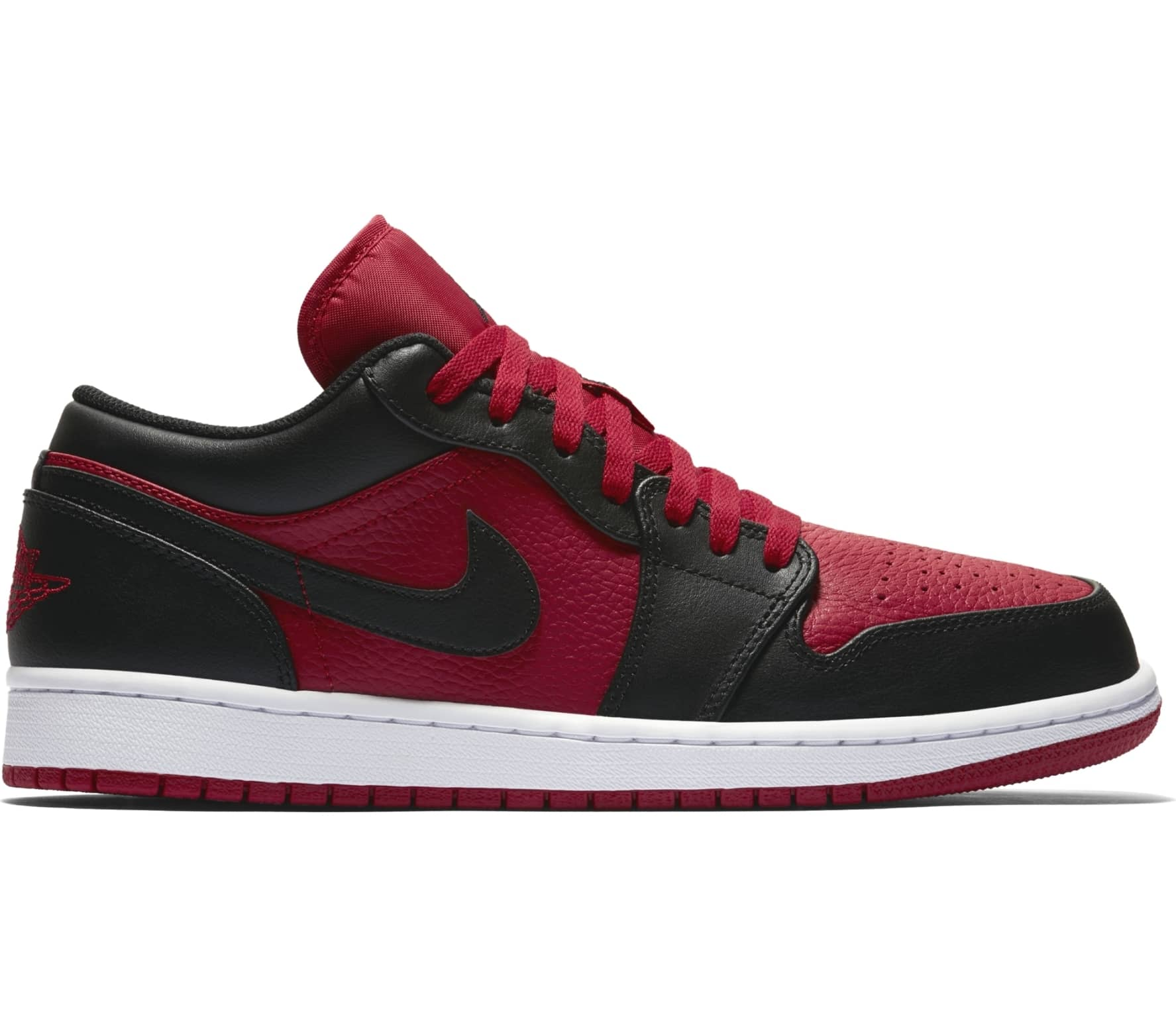 buy popular 046a1 48a39 Jordan - Air Jordan 1 LOW men s trainers (red black)