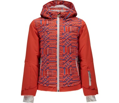 Spyder - Moxie Children skis jacket (red/blue)